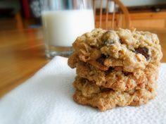 Whole Grain Oatmeal-Chocolate Chip Cookies, Jennifer Malme