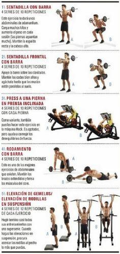 2. EL ENTRENAMIENTO DE LOBEZNO   Aptitud Fitness