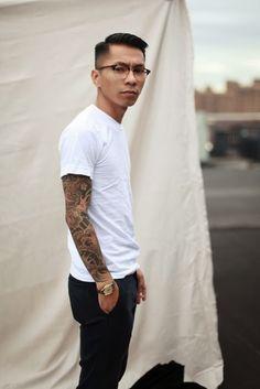 Tattoo Lust – Tattooed Men II | Fonda LaShay // Design → more on fondalashay.com/blog