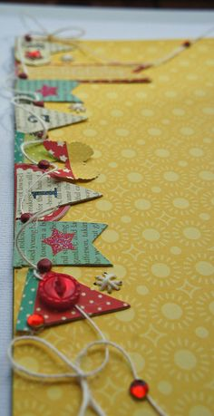 Close-up of the banner Daily Grind Designs: Craft Warehouse - Pink Paislee Hometown Summer & We R Memory Keepers Sew Easy #2