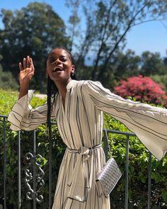 what joy looks like 👀 Letitia Wright, The Girlfriends, Marvel Women, Beautiful Black Women, American Actress, Girl Power, Actors & Actresses, My Girl, Celebs