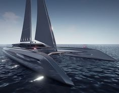 The Eco Catamaran Concept Is As Ravishing As They Get