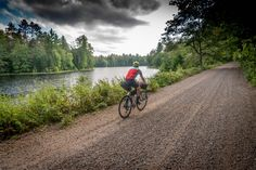 Boasting over 100 miles of unpaved dirt and gravel, this weekend bikepacking route provides an easy getaway to the Chequamegon-Nicolet wilderness… Outdoor Centre, Forest Road, National Forest, Mountain Biking, Fresh Water, Wilderness, Wisconsin, Bike Packing, Country Roads