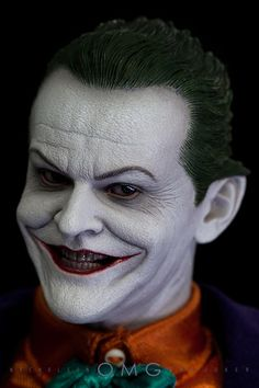 Hot Toys collection's Jack Nicholson as The Joker in Tim Burton's BATMAN 1989