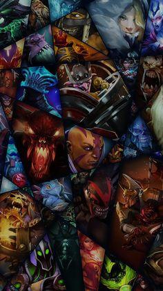 DOTA 2 Heroes iPhone 6 Plus HD Wallpaper