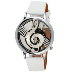 Hot Sale Musical Note Pattern Watch For Women #>=#>=#>=#>=#> Click on the pin to check out discount price, color, size, shipping, etc. Save and like it!