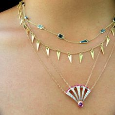 Arrow Necklace, Diamond, Casual Fridays, Jewelry, Jewlery, Dress Down Friday, Bijoux, Jewerly, Diamonds