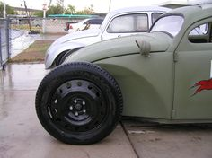 Special cars: Volkswagen Beetle / Bug Military Rat Rod