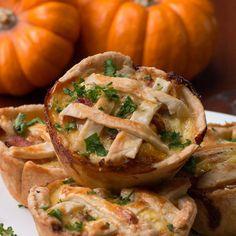 Mini Onion Bacon Pies Recipe by Tasty