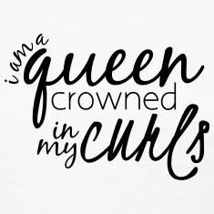 I am a QUEEN crowned in my curls! Who are my curly-haired queens out there?   www.hiddencrownhair.com