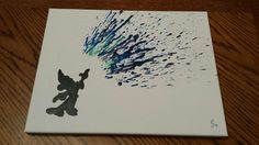 Sorcerer Mickey Mouse Fantasia Melted Crayon Art by WorthMeltingFor