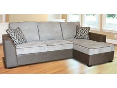 Buoyant Maddox Sofa bed chaise with storage available in wide range of fabrics £758.00