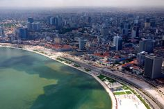 Luanda, Angola, by Neil Walton Africa Travel, Us Travel, Angola Africa, South Afrika, African Countries, Largest Countries, Congo, Travel Around The World, Airplane View