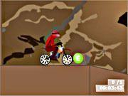 Daca v-ati obisnuit sa-l vedeti pe Mos Craciun mergand in sania cu reni sa stiti ca el de fapt merge in noaptea de craciun la voi cu motocicleta. Si daca nu ma credeti incercati acest joc. Veti fi sigeru dupa aceasta experienta ca Mos craciun nu confectioneaza cadourile ci le culege cu motocicleta din zapada. Competitia cadourilor are loc la polul nord unde Mos craciun are nevoie de ajutorul tau pentru a strange cadourile pentru copii cuminti din anul acesta.