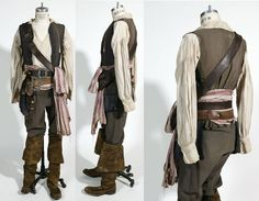 jack sparrow costume - Google Search