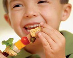 Sandwich on a Stick - How do you turn a sandwich into a fun snack? Make it a stick-wich!