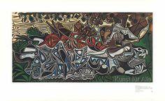 Pablo Picasso - Mädchen am Ufer (Seine)