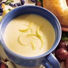 Leek Gruyere Cream Soup