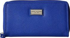 Tommy Hilfiger Womens Core Wallets Zip Around Wallet