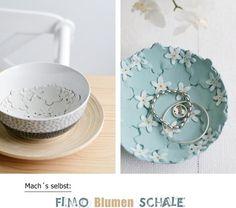 [Nachmachtipp] Fimo Blumenschale