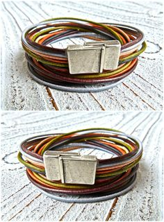 Hey, I found this really awesome Etsy listing at https://www.etsy.com/listing/162356448/bracelet-leather-to-wrap-brown-mixed