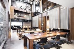 NeueHouse Los Angeles by Rockwell Group: 2016 Best of Year Winner for Coworking Space. Think of it as a cultural and social center that doubles as a place to get stuff done. Membership in the working class has never seemed so... Hollywood.