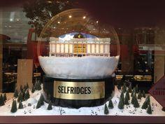 2013 Selfridges Xmas Window Shop