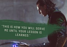 """Loki's Dirty Whispers - Submission: """"This is how you will serve me until you lesson is learned."""""""
