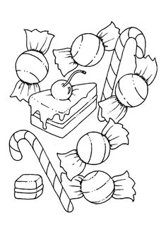 Vegetable Coloring Pages Printable New Coloring Pages Free Printable Candy Coloring for Kids Candy Coloring Pages, Candy Cane Coloring Page, Apple Coloring Pages, Vegetable Coloring Pages, Heart Coloring Pages, Thanksgiving Coloring Pages, Pattern Coloring Pages, Cute Coloring Pages, Mandala Coloring Pages