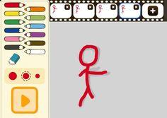una aplicación para crear animaciones dibujando