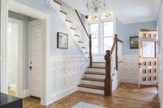 Elegant Foyer with Custom Details