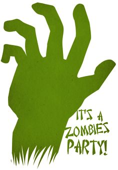 Free Printable Zombies Party Invitation