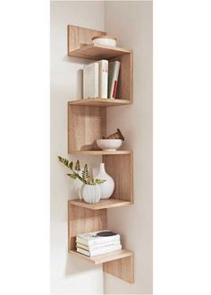 """Eckregal """"Rico"""", bpc living, sonoma eiche - Do it yourself decoration Diy Furniture, Furniture Design, Simple Furniture, Black Furniture, Furniture Plans, New Room, Home Projects, Living Room Decor, Living Rooms"""