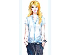 Fashion Illustration by Pat Chiang