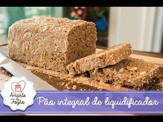 Agda l. shared a video Polenta, Bread Baking, Relleno, Coco, Banana Bread, Sandwiches, Easy Meals, Good Food, Low Carb