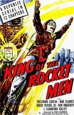 King of the Rocket Men - 1949 - Movie Poster