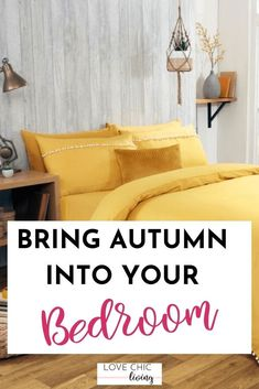 Are you looking for bedroom update ideas? Whether for a small or master bedroom, whether you want colour ideas or ideas on a budget, this one tip will give your bedroom design a completely different feel. Update your bedroom decor with this easy update. #lovechicliving