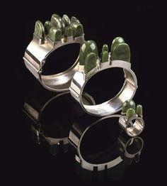 Taisto Palonen bracelets and ring