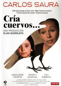 Cria Cuervos by Carlos Saura, 1976 (Ana Torrent, Gerladine Chaplin) See Movie, Movie Tv, Movie Theater, Geraldine Chaplin, Cinema Posters, Movie Posters, Lance Black, Rabe, Movies 2019