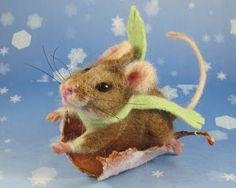Needle Felted Art by Robin Joy Andreae: December 2011