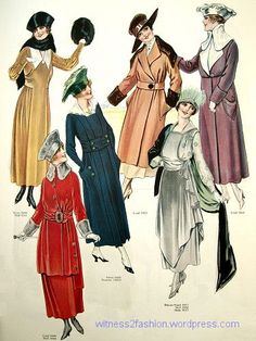 November fashions from Butterick, Delineator, Nov. 1917, p. 83.