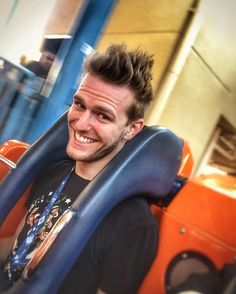 Just got off California Screamin'. How do I look?  #igers  #springbreak  #Disney #disneyland #disneycaliforniaadventure #instapic #instagood #gayboy #gayguy #hair #smile #vacation #friday #gayman #gayhair #instaboy #instagay by gribber