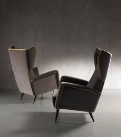 Bergere Armchairs By Gio Ponti | From A Unique Collection Of Antique And  Modern Armchairs At