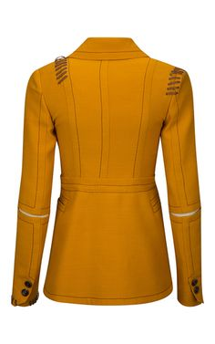 Jacket With Stitching Details by BALLY for Preorder on Moda Operandi