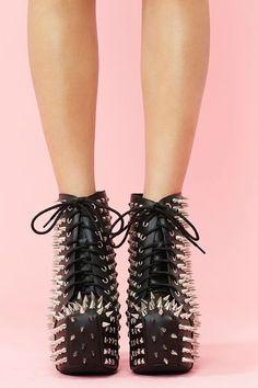 da968e85536 I have a serious weakness for Jeffrey Campbell shoes  Platformhighheels  Black Platform Boots