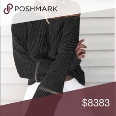 ⭐️LAST ONE🔹The Noir Sweater Cotton poly blend. Item is new, direct from maker without store tags. Army green has sold out. Birthday Anniversary Valentines gift present🔻IF YOU LIKE MY ITEMS, please FOLLOW ME to see NEW ARRIVALS. Posh Garden Sweaters