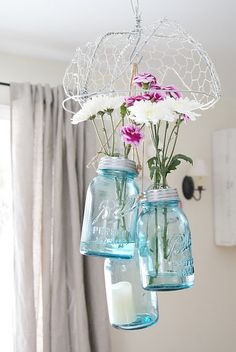 Best 22 diy easy and cheap mason jar projects @Carrie Kotil just in case you need any ideas...