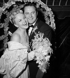 Brad Dexter and wife - Peggy Lee
