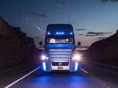 Self Driving Truck Hits the Roads in Nevada