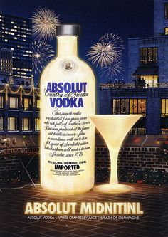 postcard - Absolut Vodka New Year by Jassy-50, via Flickr